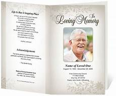 Memorial Pamphlet Template Free 17 Best Images About Memorial Brochure And Scripts On