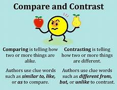 Compare And Contrast Pictures Explain Illuminate Expose Compare Contrast Writing
