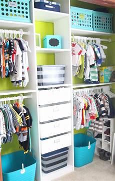 baby boy clothes ikea nursery closet makeover nursery closet organization
