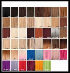 Boss Weave Color Chart Remy Hair Extensions Colour Chart