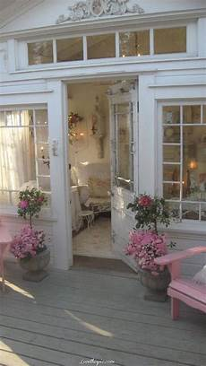 country chic home decor pretty front entrance pink home country house style