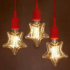 Light Bulb Shaped Christmas Lights E27 40w Incandescent Bulbs Warm White Star Shape