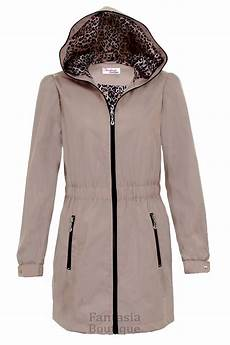 Light Summer Raincoat Ladies Hooded Shower Proof Lined Women S Casual