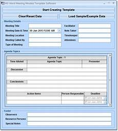 Microsoft Meeting Minutes Template Free Meeting Minute Examples Downloads