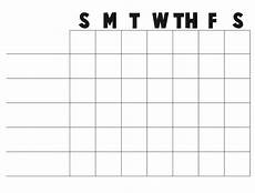 Blank Chore Chart Free Printable Blank Charts Or A Blank Chart You Can