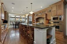 galley kitchen with island layout 22 luxury galley kitchen design ideas pictures