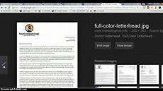 What Are Letterheads Letterhead Examples Youtube