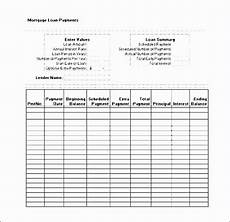 Adjustable Amortization Schedule 50 Amortization Schedule With Variable Payments