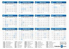 Calnder For 2010 2010 Calendar
