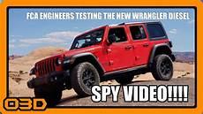 2019 Jeep Jl Diesel by 2019 Diesel Wrangler Testing Fca Jeep Jl And