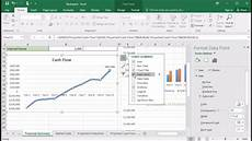 How To Chart Data In Excel 424 How To Add Data Label To Line Chart In Excel 2016