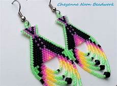 beadwork green 201 best beaded earrings images on