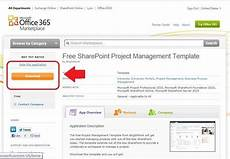 Sharepoint 365 Templates Free Sharepoint Project Management Template For Office 365