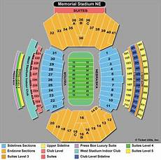 Shorts Stadium Seating Chart Nebraska Cornhuskers Football Tickets 2018 Games