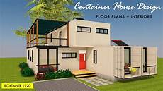 luxury shipping container house design 5 bedroom floor