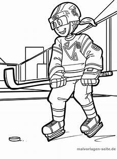 malvorlage eishockey wintersport sport ausmalbilder