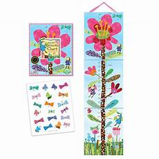 Pink Height Chart Pink Flower Height Chart By Eeboo Big Bears Toy Box