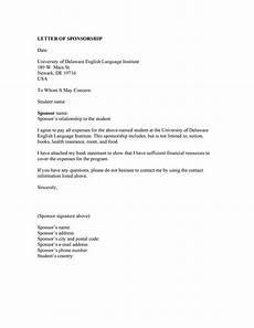 Letter For Sponsorship 40 Sponsorship Letter Amp Sponsorship Proposal Templates
