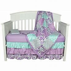 the peanut shell baby crib bedding set purple