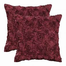 calitime pack of 2 cushion covers throw pillow cases