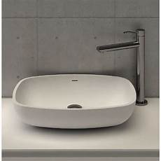 sanitari in corian di masi bathroom calice lavabo da appoggio in corian