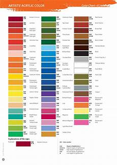 S Acrylic Craft Paint Color Chart 62 Best Images About Acrylic Paint On Pinterest
