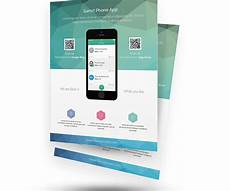 Best App To Make Flyers Free Psd App Promotion Flyer Templates Psdboom