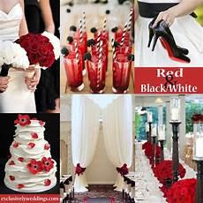 red wedding color seven vibrant combinations wedding