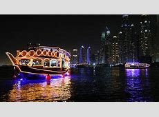 Dhow Cruise Dinner Marina in Dubai   Ticket Deals