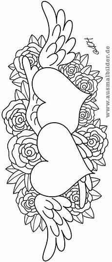 Blumen Malvorlagen Kostenlos Zum Ausdrucken Hochzeit Ausmalbilder Mit Herz Mandala Zum Ausdrucken