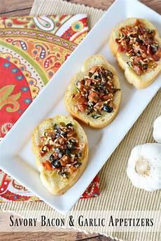 savory bacon garlic appetizers recipe the rebel