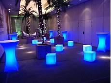 Led Party Table Lights Led Furniture Led Furniture Rentals Grimes