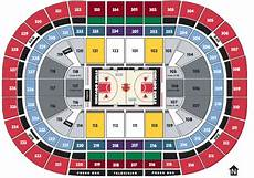 Seating Chart Penguins Game Breakdown Of The United Center Seating Chart Chicago