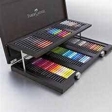 faber castell pitt artist pen wooden gift box set of 90