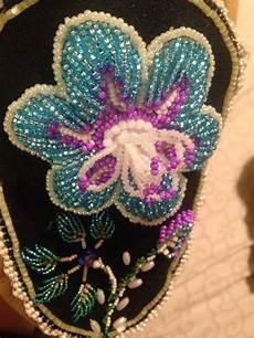 beadwork raised raised beadwork made by thompson akwesasne my