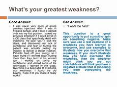 Strengths And Weaknesses Answers Good Weakness Resume Hudsonhs Me