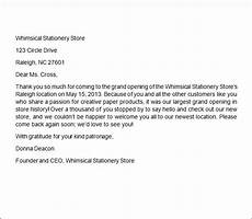 Sample Thank You Business Letters Free 7 Sample Business Thank You Letter Templates In Ms