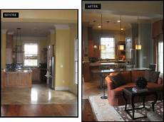 before and after interior design