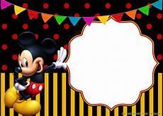 Custom Mickey Mouse Invitations Free Printable Cheerful Mickey Mouse Birthday
