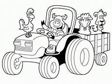 Malvorlagen Traktor Tractor Coloring Pages Deere Coloring Home