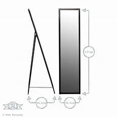Harbour Housewares Floor Standing Length Dressing Mirror by Floor Standing Length Tilting Dressing Floor Bedroom