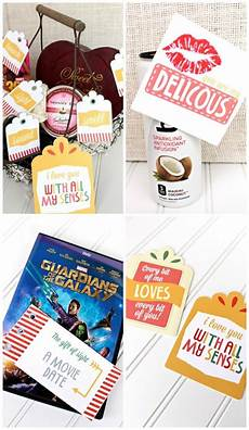 enjoy notes for your spouse five senses gift to give your spouse with printables