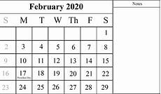 month calendar february 2020 free download february 2020 printable calendar pdf excel