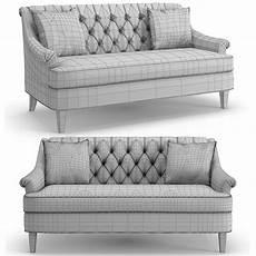 Narrow Sofa 3d Image by Hickory Furniture Marler Tufted Apartment Sofa 3d