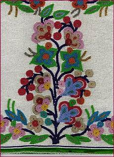 ojibwe floral bead patterns search