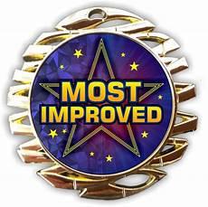 Most Improved Award Most Improved Medals Just Award Medals
