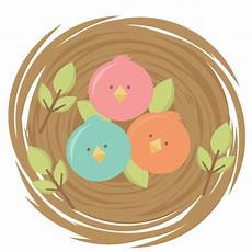 baby birds svg cutting files for scrapbooking svg