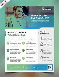 Business Flier Clean Business Flyer Template Free Psd Psdfreebies Com
