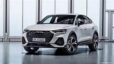Audi Q3 S Line 2020 by 2020 Audi Q3 Sportback S Line Color Dew Silver Front