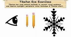 Tibetan Chart Tibetan Vision Eye Exercise Improve Eye Vision